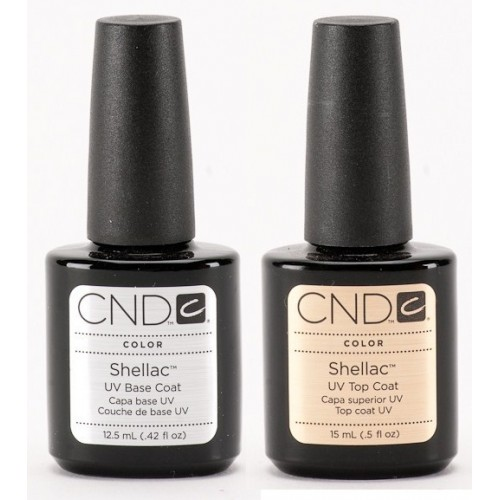 12.5 ml baza + 15 ml top zestaw CND Shellac